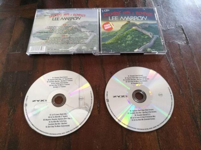 Lee Marrow - Greatest Hits & Remixes Zyx 2x Cd Perfetti