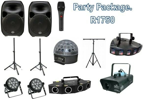Party, Disco, Sound and lighting hire
