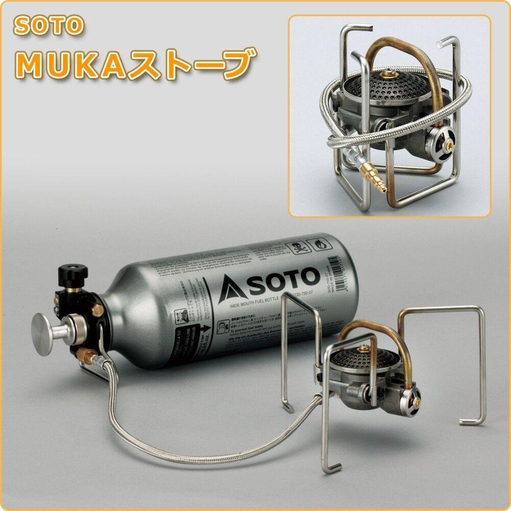 Soto Muka Estufa Sod 71 Gasolina De La Estufa No botella de combustible de boca ancha con seguimiento