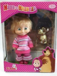 SIMBA Masha and The Bear Masha /& Dog Cartoon Character Doll Toy Gift Box