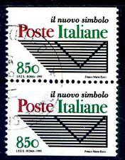 ITALIA 1995 coppia ND da Libretto Poste Usata -  Lire 850