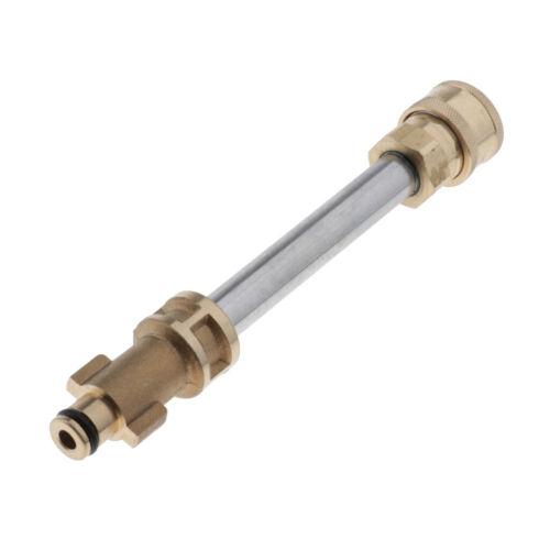 Pressure Washer Adapter 1//4in Foam Pot High Pressure Converter for Gemi PA11