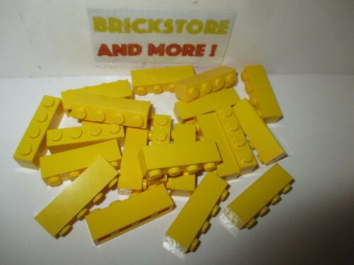 Choose Quantity x4 x8 x16 Lego Brick Brique 1x4 4x1 3010 Yellow//Jaune//Gelb
