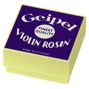 Genuine Geipel Colophane Violon Colophane-afficher Le Titre D'origine