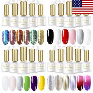 BORN-PRETTY-6ml-Glitter-Soak-Off-UV-Gel-Nail-Polish-Thermal-Nail-Art-Varnish-Set