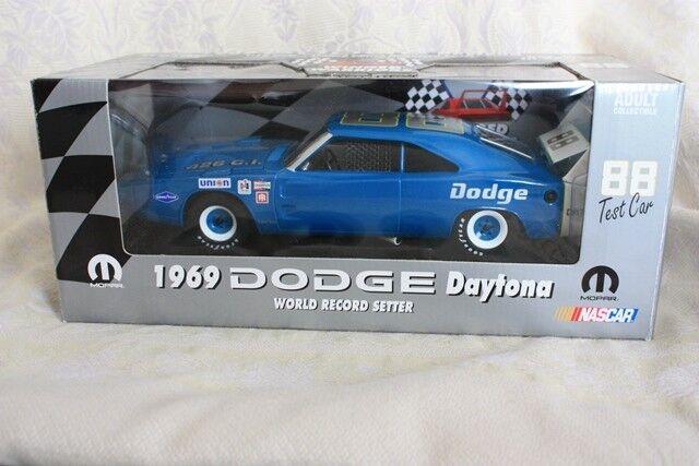 saludable Dodge Daytona 1969 1969 1969 426 Cui, Setter, récord mundial, coche de prueba nº 88, 1 18,  promociones de descuento