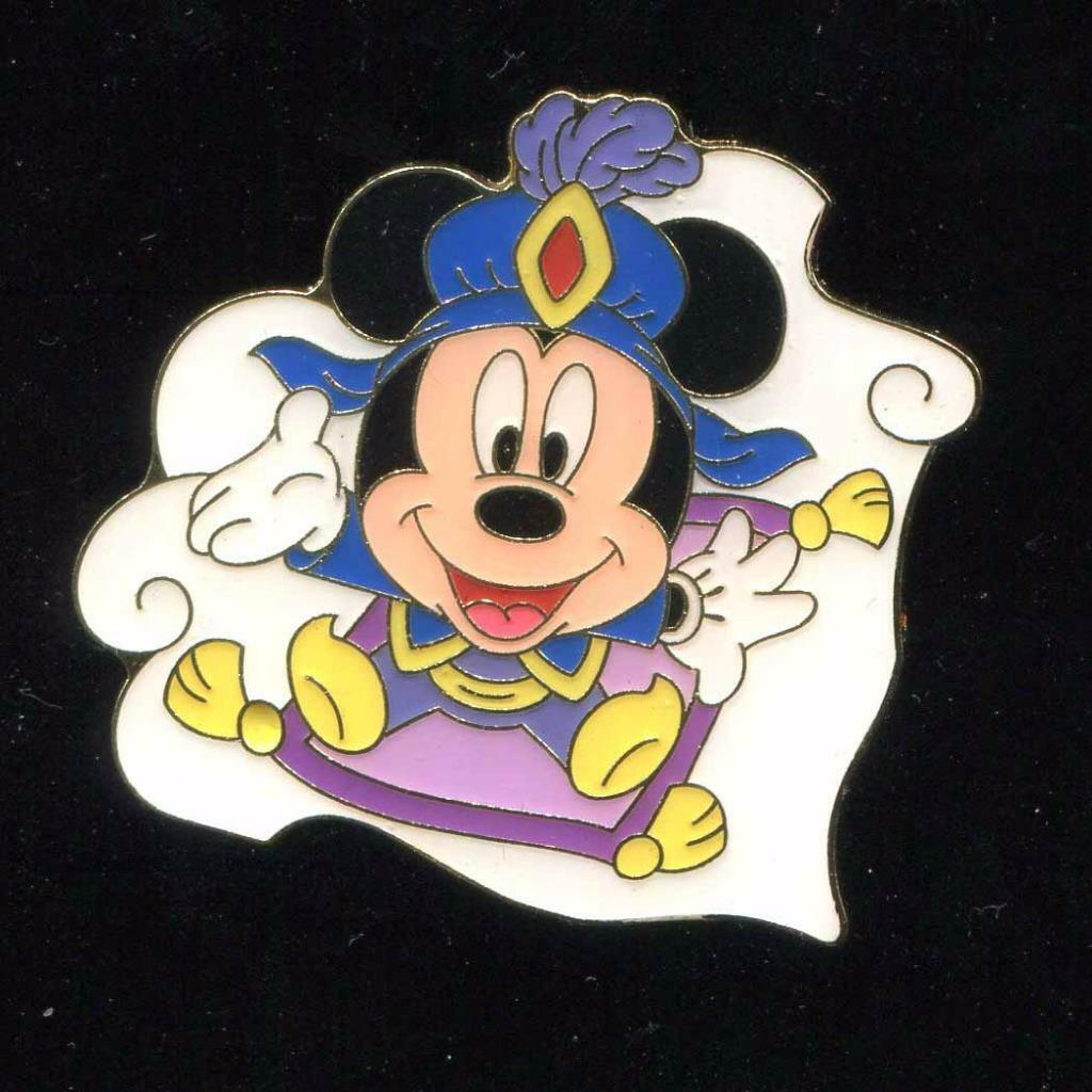 tds arabian coast games magic carpet mickey mouse disney pin 95752