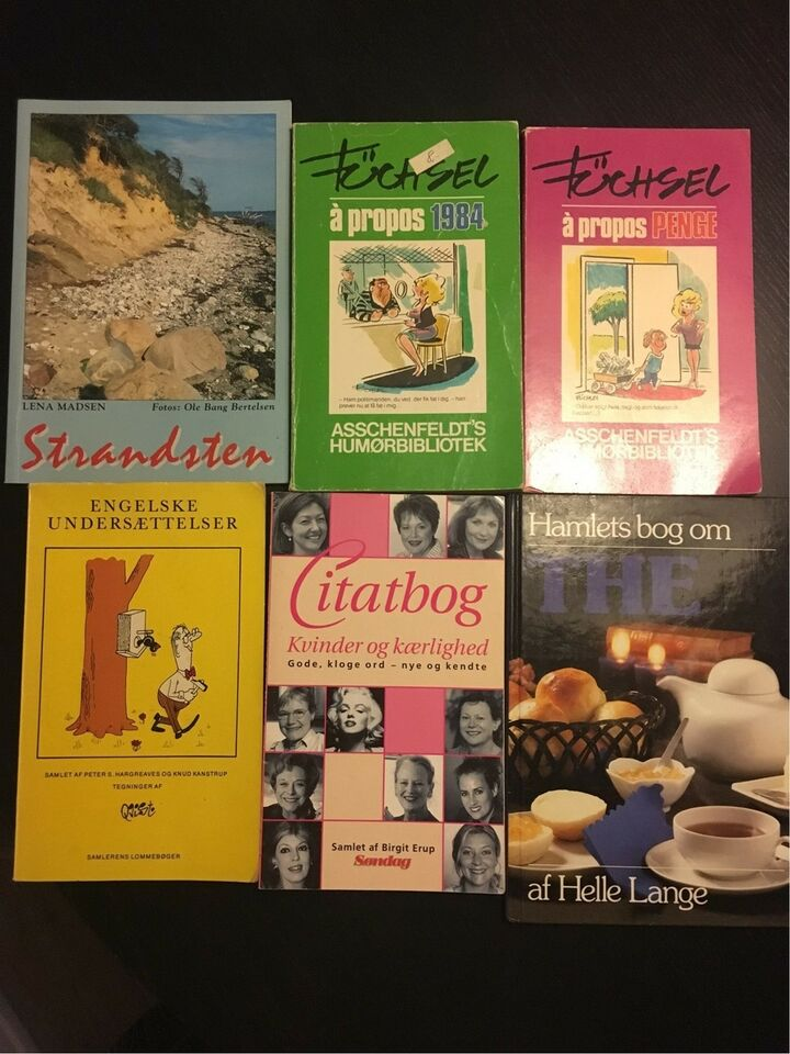 Seks forskellige titler, Forskellige, genre: anden