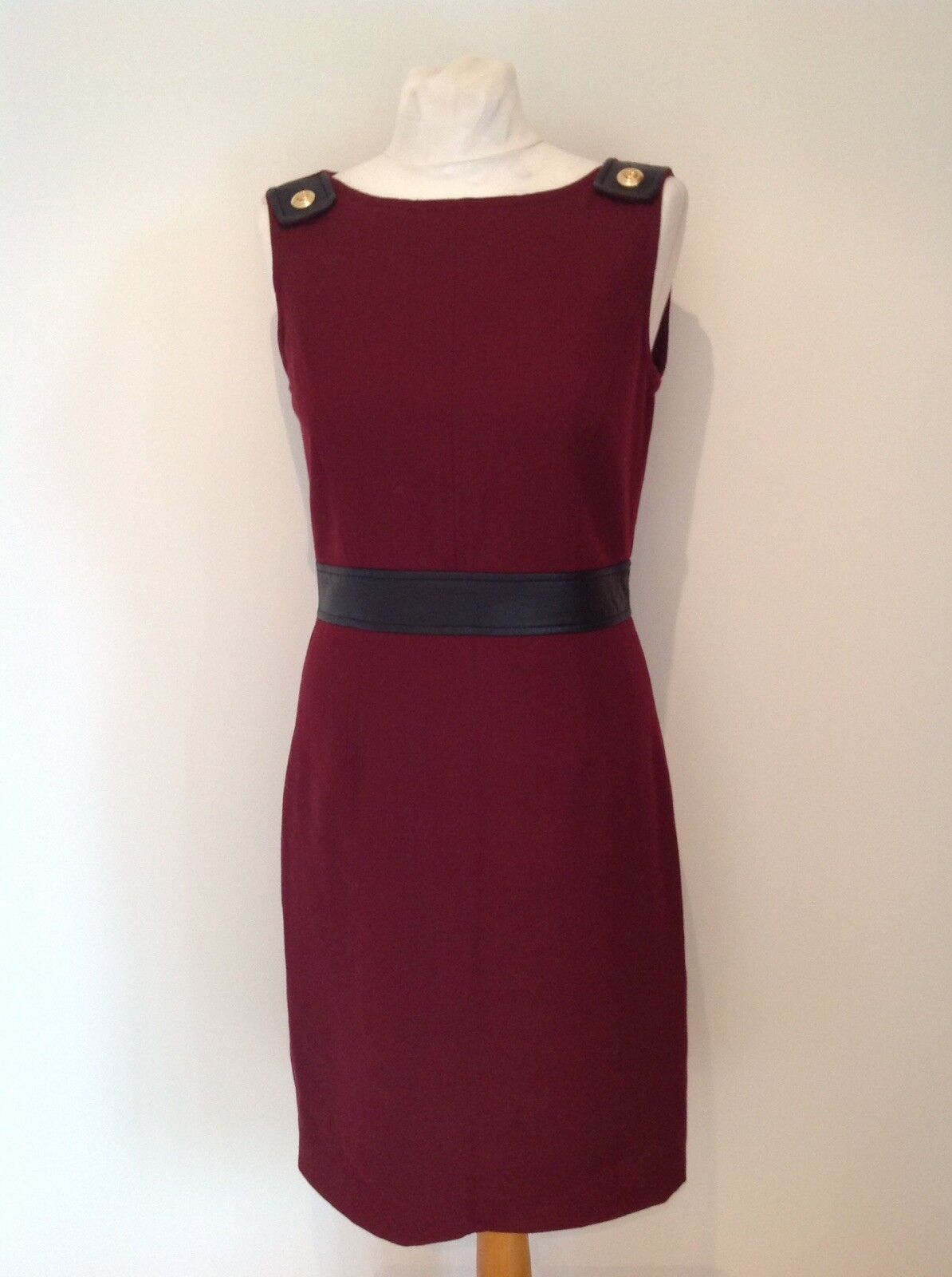 TORY BURCH damen LADIES WOOL BLEND DRESS Größe  USA 4