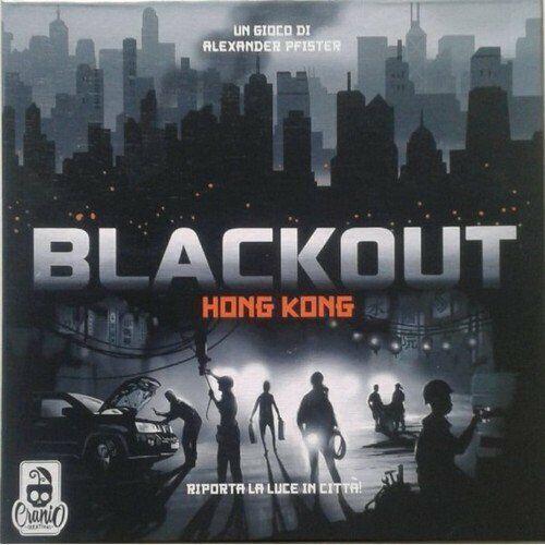 schwarzout  Hong Kong Gioco da Tavolo Nuovo by Cranio Creations Italiano