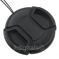 Front Lens Cap For Jvc Gc-px100 Gz-hd3 Gz-hm400 Gz-hm1 Gy-hm150 Snap-on Cover