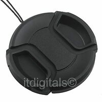 Front Lens Cap For Jvc Camcorder Gy-hm700u Gy-hm700l17 Gy-hm700 Snap-on Cover
