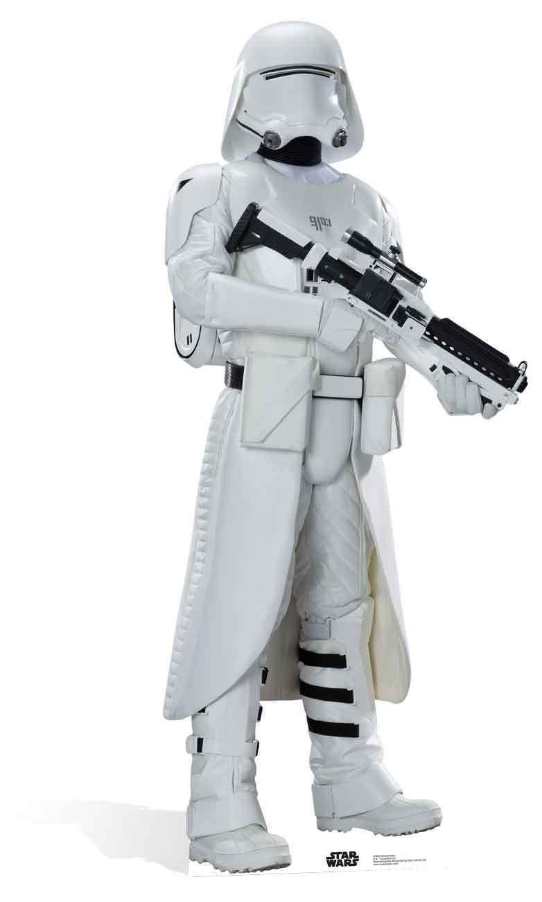 Snowtrooper First Order Star Star Star Wars The Force Awakens LIFEGröße CARDBOARD CUTOUT e0d422