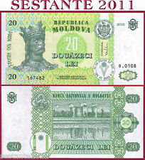 MOLDOVA -   20 LEI 2010  - P 13i    -    FDS / UNC