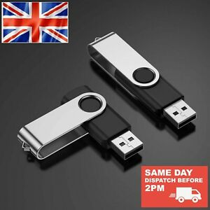 USB2.0 High Speed Flash Pen Thumb Drive Memory Stick 2,4,8,16,32,64,128GB PC/Mac