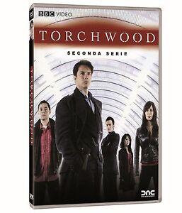 Torchwood-Serie-Tv-2-Stagione-Cofanetto-Con-4-Dvd-Nuovo-Sigillato