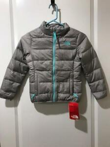 006f9d2c4 Details about The North Face Girls Andes 550 Down Fill Jacket XS6 NWT
