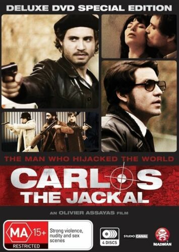 1 of 1 - Carlos The Jackal - Trilogy + Movie (DVD, 2011, 4-Disc Set)