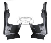 2000-2004 Ford Focus Air Deflector 3 Piece Set - Front Lower Radiator Air Dams