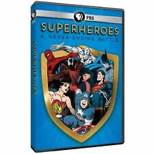 Superheroes: A Never-Ending Battle (DVD,2013) New,PBS presentation,same day ship