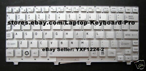 New US Keyboard for Toshiba Mini=NB 300 NB 305 NB305 NB300 Silver Replacement with Frame