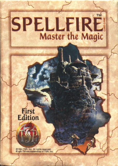 Spellfire Artifacts unopened booster pack - 15 cards