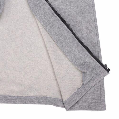 New Men/'s Winter Slim Hoodie Warm Hooded Sweatshirt Coat Jacket Outwear Sweater