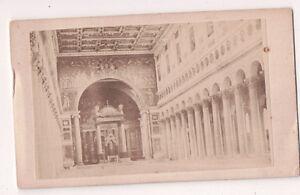 Vintage-CDV-Interior-of-Basilica-of-Saint-Paul-Outside-the-Walls-Rome-Italy