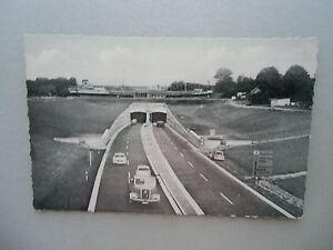 Ansichtskarte-Rendsburg-1964-Autostrassentunnel-Nord-Ostsee-Kanal