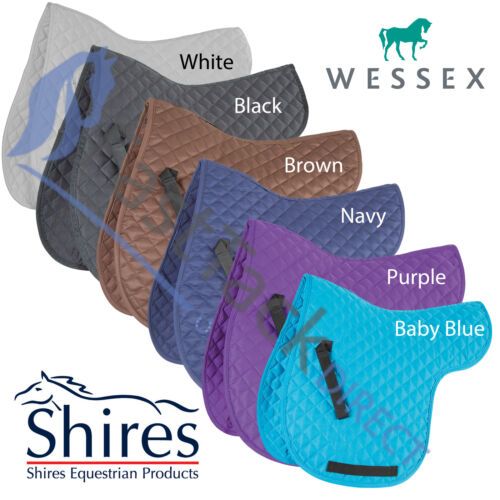 SALE Shires Wessex Diamond Quilt Numnah Saddle ClothRoomy WitherEasy Care