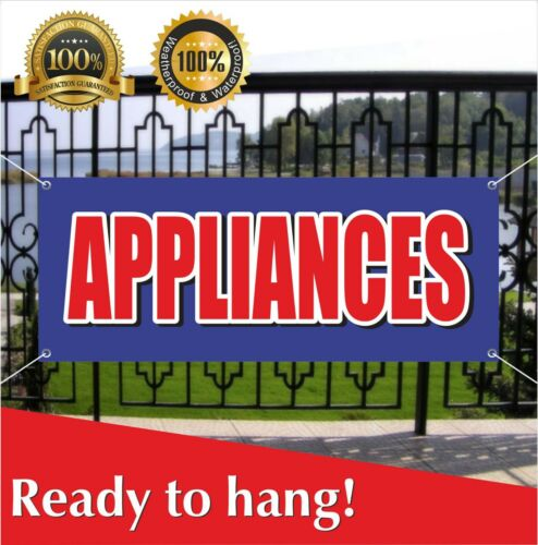 APPLIANCES Banner Vinyl / Mesh Banner Sign Dish Washer Dryer Sale Many Sizes