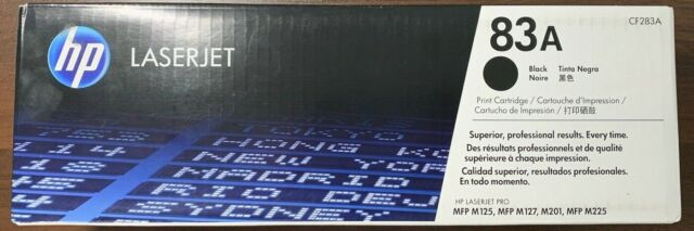 HP 83A - CF283A - Toner Cartridge - Black - Factory Sealed