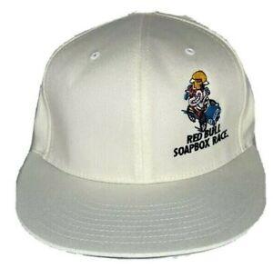 LA-RED-BULL-SOAPBOX-RACE-Mens-Flexfit-WHITE-Hat-Size-Med-NEW