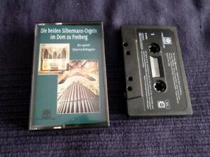MC Cassette Dietrich Wagler spielt die Silbermann-Orgeln im Dom Freiberg Motette