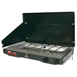 Coleman Gas Camping Stove Classic 2 Burner Portable Outdoor Grill New