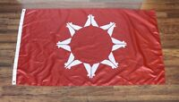 Red Sioux Oglala Lakota Nation Flag Native American Indian United Tribes