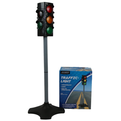 Alert Ampel Verkehrsampel Fußgängerampel Kinder Spielzeug mit Licht 72 cm