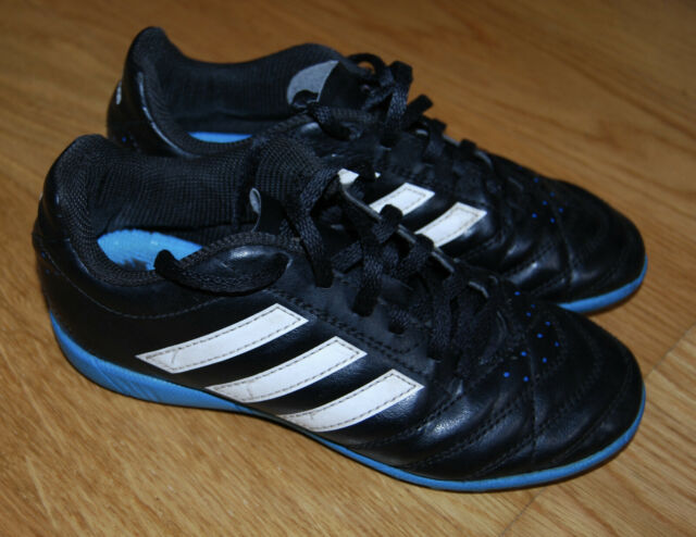 adidas - Performance 16.4 Boys Black Football Boots AstroTurf Trainers UK 1