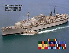 USS PROTEUS AS-19 Personalized Canvas Paper Print