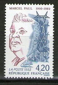 TIMBRE 2777 NEUF XX LUXE - MARCEL PAUL - ANCIEN MINISTRE EN 1945