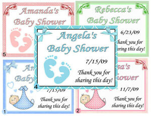 15 personalized baby shower favors magnets ebay