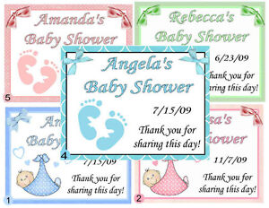 15 personalized baby shower favors magnets ebay image is loading 15 personalized baby shower favors magnets filmwisefo