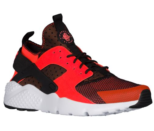 Nike Air Huarache courir Ultra, homme New, 19685008, noir/blanc/Total Crimson