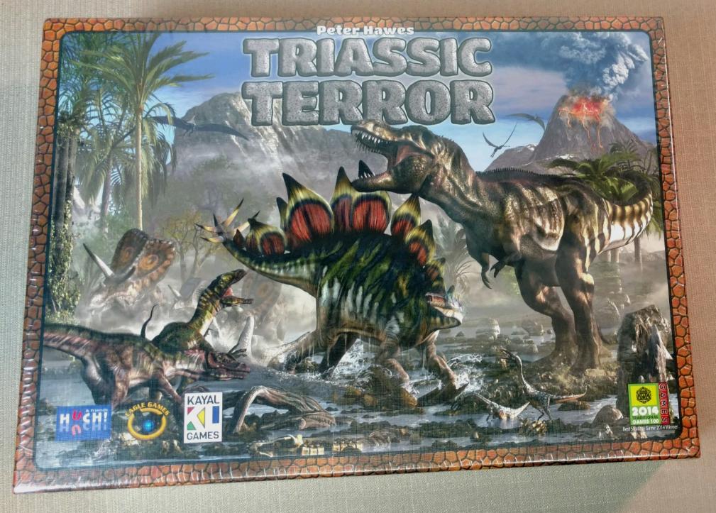 Trias - terror - spiel von peter hawkes   eagle games neue siegel