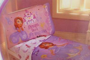 4 Pc Disney Junior Sofia The First Toddler Bed Set Nip Ebay