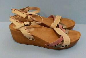 Coolway Strappy Wedge Sandals sz 39 9