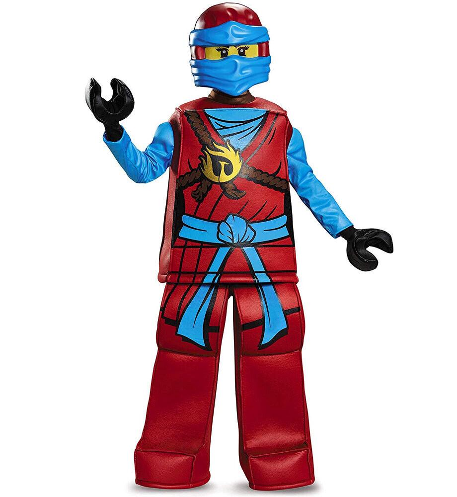 Ragazzi black /& red KARATE KID ninja assassino Costume Giornata Mondiale del Libro