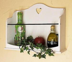 Wandregal-mit-Herz-12027-Regal-42-cm-Vintage-Shabby-Landhaus-Weiss-Loft