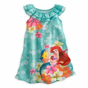 114e26a2d1 Image is loading Disney-Store-Princess-The-Little-Mermaid-Ariel-Nightgown-