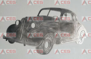 Chevrolet Chevy Nova steel man cave garage art wall sign CNC plasma cut